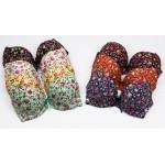 Бюстгальтер гладкий с цветами по ткани 3-ка  6331