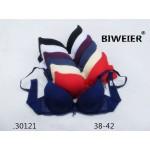 Бюстгальтер BIWEIER с кружевными боками 3-ка  30121
