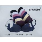 Бюстгальтер BIWEIER пуш-ап гладкий 2-ка  У3168