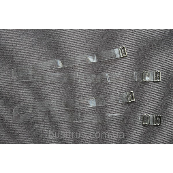 Бретельки силиконовые прозрачные 12  1001