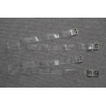 Бретельки  силиконовые прозрачные 15  1002