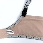 Бюстгальтер BIWEIER без косточки гладкий с резинкой, 2-ка  30232В