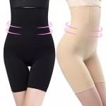 Панталоны утягивающие гладкие, с косточками  S0045