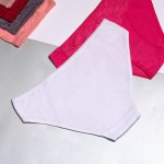 Трусики - слипы ROSE&DONA хлопок с кружевом спереди  SN3341