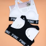 Комплект белья | PINK | спортивный | топ A/B + шортики  90616