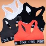 Комплект белья PINK спортивный (топ 1,5 - ка + шортики)  90616