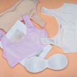 Топ детский | GUO LY | с перфорацией и поролоновыми вкладышами  321_молочный и др. цвета