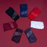 Трусики - слипы LULOLA кружевные, двухцветные  1360