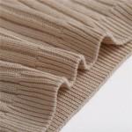 Топ - бралетт вязанный, FINETOO на тонких шлейках, 2-ка, черный  B079_черный и др. цвета