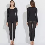 Комплект белья | FINETOO | незаметный, тонкий, эластичный  P037_черный