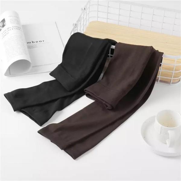 Легинсы | FINETOO | эластичные, утеплённые  W047_коричневий
