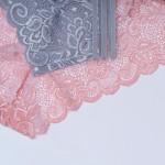 Трусики - слипы, ANTFIEU, кружевные, на широкой тройной резинке  7201_черный и др. цвета
