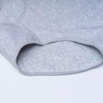 Трусики - слипы из хлопка с кружевной вставкой ANTFIEU, большие  80107_беж и др. цвета
