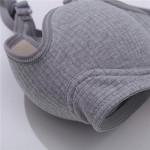 Бюстгальтер в рубчик, формованный, без косточки, FINETOO, дышащий, 2-ка  Х121В_черный и др. цвета