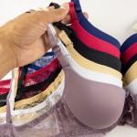 Бюстгальтер с гладкой чашкой с небольшим push up и декоративными шлейками, 2-ка  31612B_белый и др. цвета